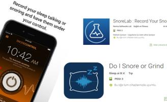 Horlama Ve Uyku Apnesinin Akıllı Telefon Uygulamaları İle Tespiti