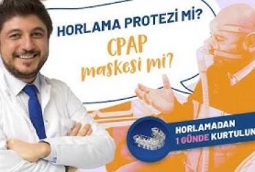 CPAP maskesi mi? Horlama Protezi mi? Hastamız anlatıyor...